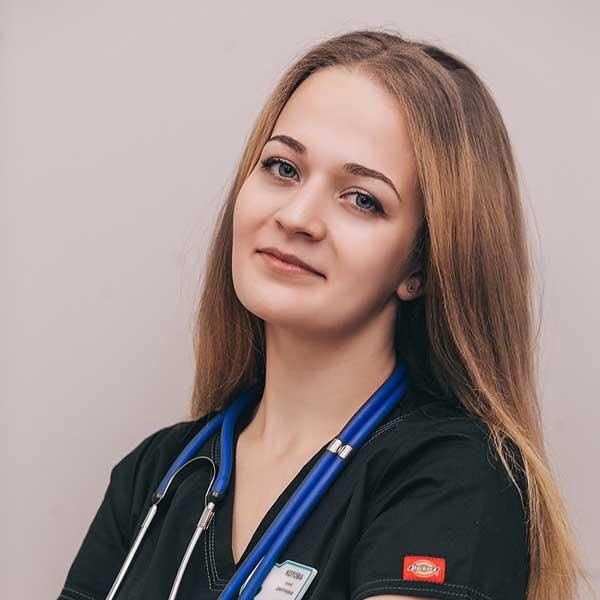 Котова Анна Ветеринарный врач-анестезиолог